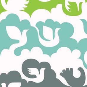 birds&clouds