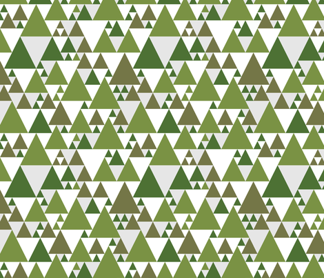 forest fabric by dennisthebadger on Spoonflower - custom fabric