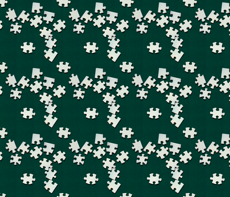 Puzzling fabric by hannafate on Spoonflower - custom fabric