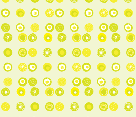 bySukro dots pattern fabric by sukro on Spoonflower - custom fabric