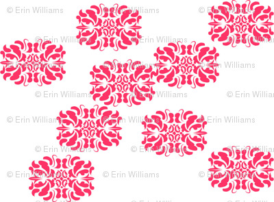 Horizontal Damask