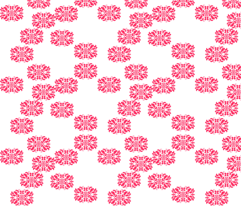 Horizontal Damask fabric by eedeedesignstudios on Spoonflower - custom fabric