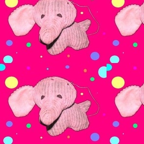 Whimsicle Elephant Missing an Ear Print