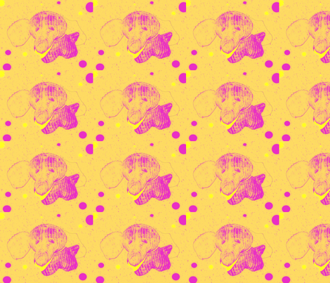 Regretsy Elephant fabric by karen_m_ on Spoonflower - custom fabric