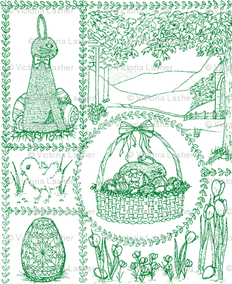 Easter_mini_toile_green
