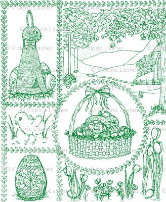 Easter_mini_toile_green