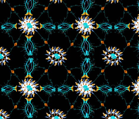 Electric Vagina- Regretsy fabric by peacocktaco on Spoonflower - custom fabric