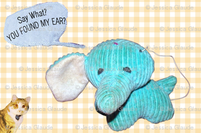 Regretsy Elephant Nursery Print