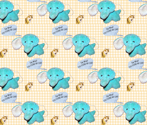 Regretsy Elephant Nursery Print fabric by stellababy_etsy_com on Spoonflower - custom fabric