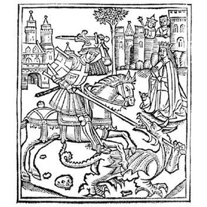 St George Slays a Dragon