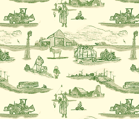 toile de l'Iowa fabric by madam0wl on Spoonflower - custom fabric