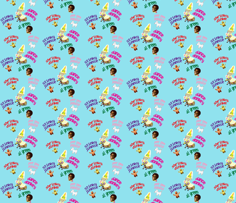 donkey party fabric by razberries on Spoonflower - custom fabric
