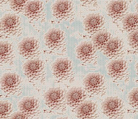 Marie's Garden fabric by kristopherk on Spoonflower - custom fabric