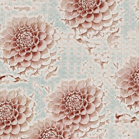 Marie's Garden fabric by kristopherk on Spoonflower - custom fabric