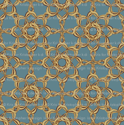 Rosettes Grand - Duck Egg Blue