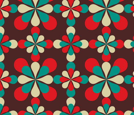 Linoak on Fifth fabric by libbyunwin on Spoonflower - custom fabric