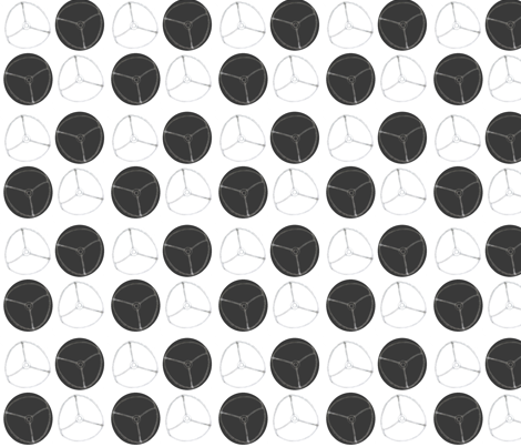 Give polka a chance fabric by trillian on Spoonflower - custom fabric