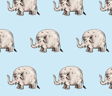Elephant Love fabric by taraput on Spoonflower - custom fabric