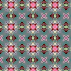 Rosebud pattern VI