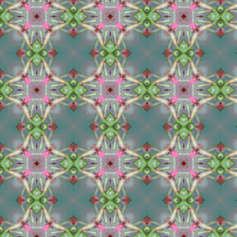 Rosebud I fabric by vib on Spoonflower - custom fabric