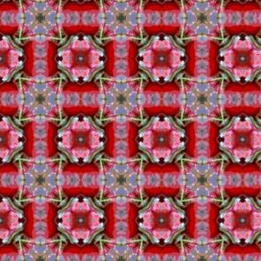 Rosebud pattern III