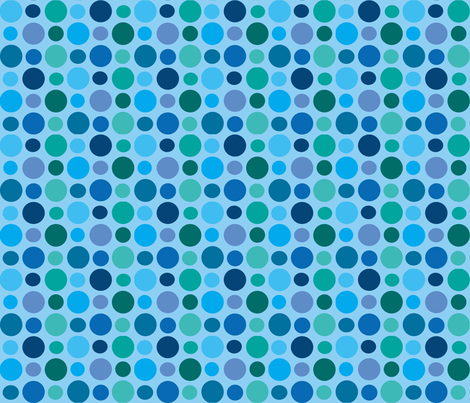 bubbles_fabric fabric by annacole on Spoonflower - custom fabric