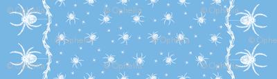 Spider Border (blue)