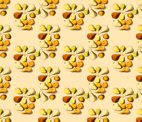 Pears fabric by nalo_hopkinson on Spoonflower - custom fabric