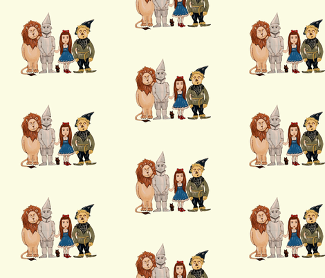 Off to see the Wizard! fabric by taraput on Spoonflower - custom fabric