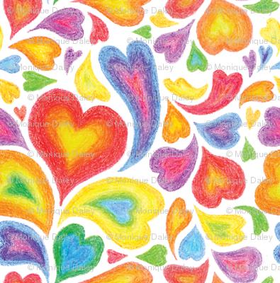 Will you be my Rainbow Valentine?