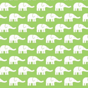 SMALL Elephants green
