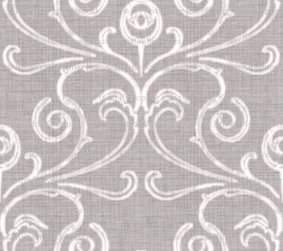 Custom - Faded French Rose - Silver Grey