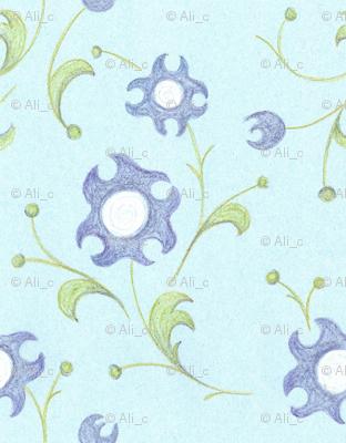crayon_floral_blue_4inWide_150dpi