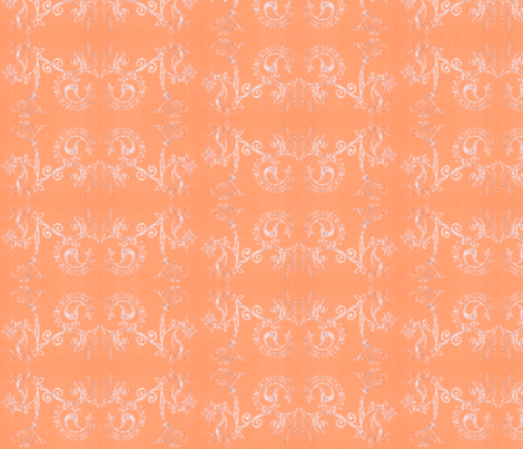 peachpaisley fabric by beenishz on Spoonflower - custom fabric