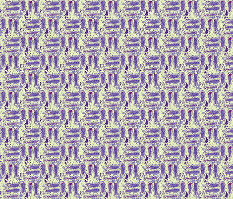 Carrot Map in Periwinkle fabric by minka on Spoonflower - custom fabric