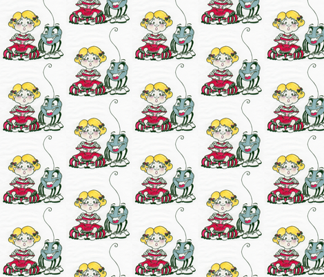 missmuffet_2-ed fabric by katewest on Spoonflower - custom fabric