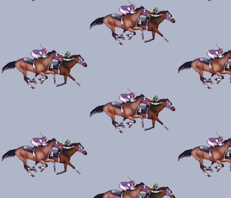 MAY The Horse Be With You fabric by bhymer on Spoonflower - custom fabric