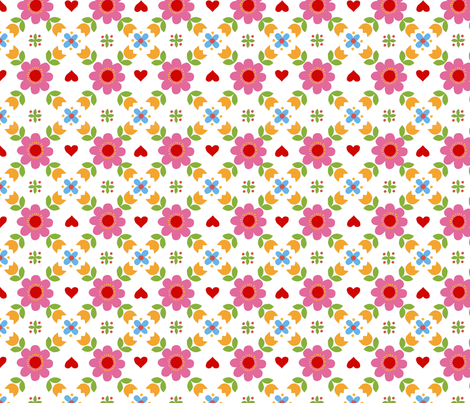 Retropattern  fabric by katharinahirsch on Spoonflower - custom fabric