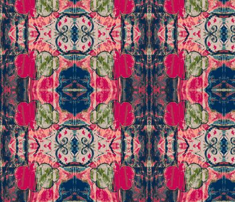 cloud painting fabric by francescalyn on Spoonflower - custom fabric