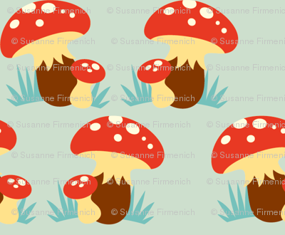 Toadstools Parade