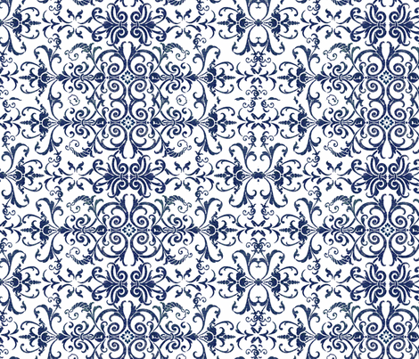 nisha fabric by marnielong on Spoonflower - custom fabric