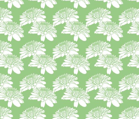 Ice Cream Social :: Mint Chocolate Chip :: Mum fabric by cottageindustrialist on Spoonflower - custom fabric