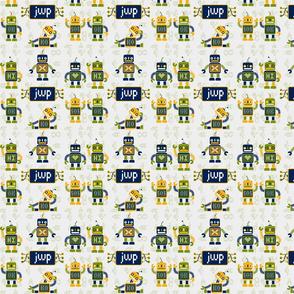 robot fabric-ed