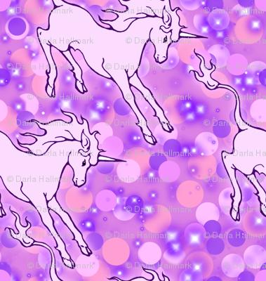 Lavender unicorns