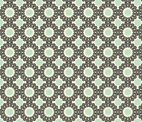 Steel Roundy fabric by katty on Spoonflower - custom fabric