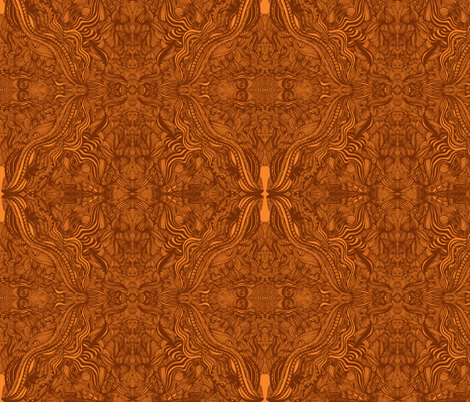 JamJax Golden Crest fabric by jamjax on Spoonflower - custom fabric