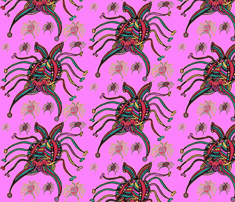 JamJax Bugged fabric by jamjax on Spoonflower - custom fabric
