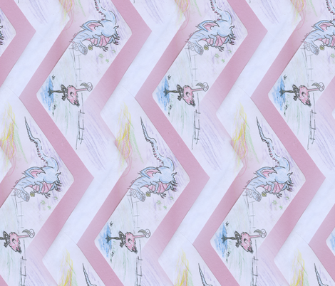 ziG-zaG dra-minGo fabric by arroyo on Spoonflower - custom fabric