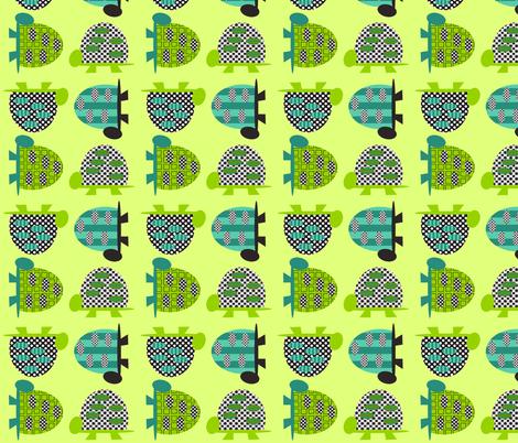 Tall Turtles - deep fabric by petunias on Spoonflower - custom fabric