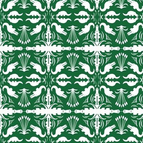 Crocodile Damask